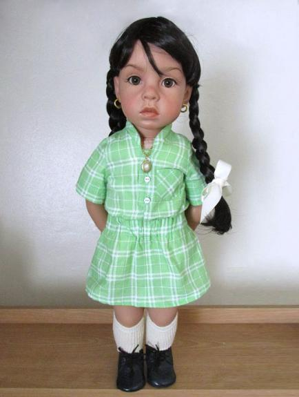 classic school girl dress little raven creations