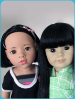 Asian dolls Gotz FAO Avery and American Girl #4